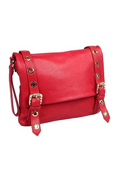 Pierre Balmain - Cartera de mano para mujer Rojo rojo One Size, color Rojo, talla One Size: Amazon.es: Zapatos y complementos