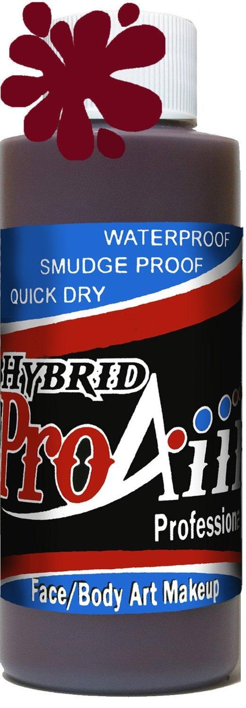 ProAiir Waterproof Hybrid Face and Body Art Paint - Zombie Walking Dead 2.1oz (60ml) Bottle ShowOffs