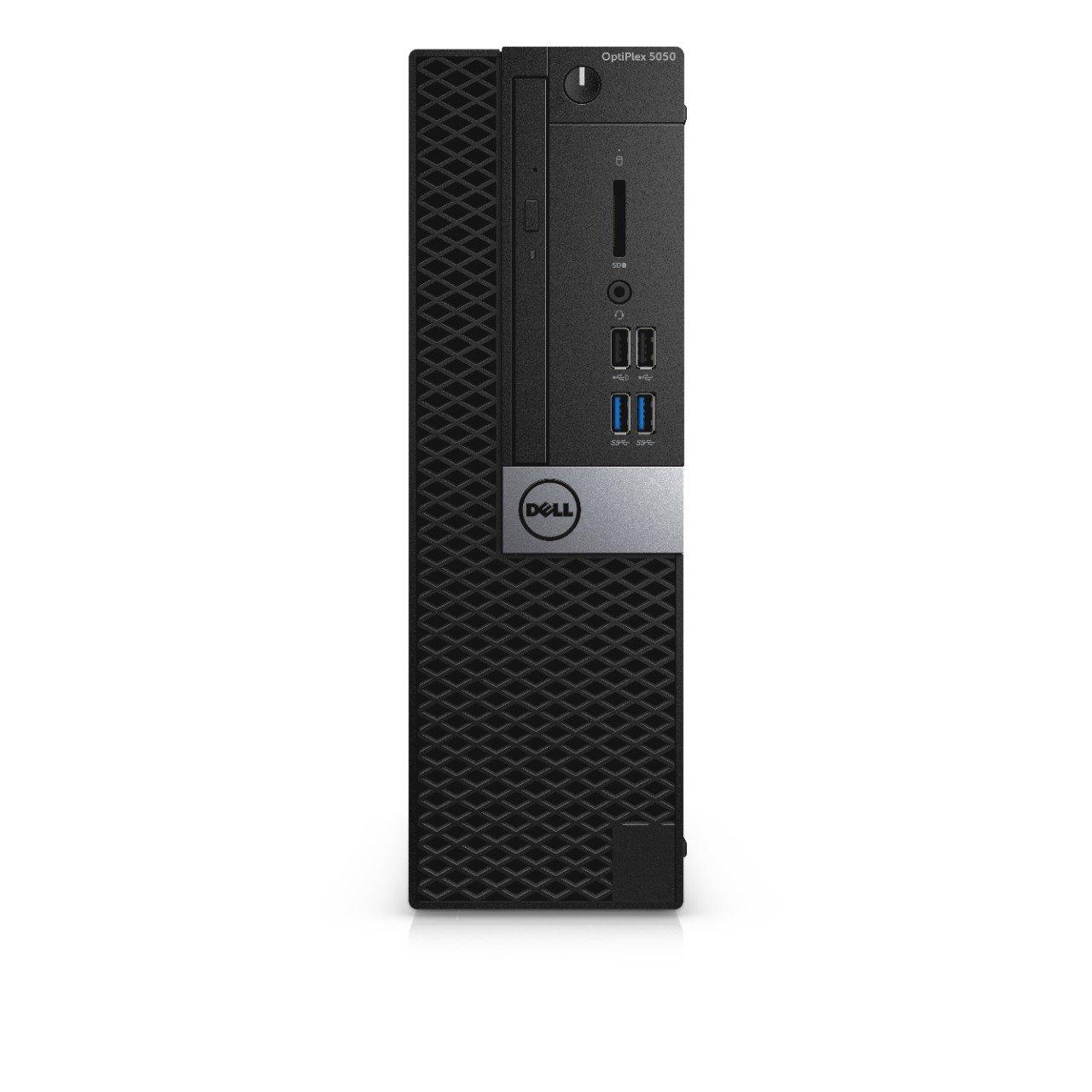 Dell H60K4 OptiPlex 5050 Small Form Factor Desktop, Intel Core i5-7500, 8GB RAM, 500GB HDD, Black by Dell (Image #2)