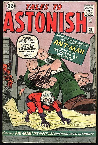 Stan Lee Signed Tales To Astonish #38 Comic Book - PSA/DN...