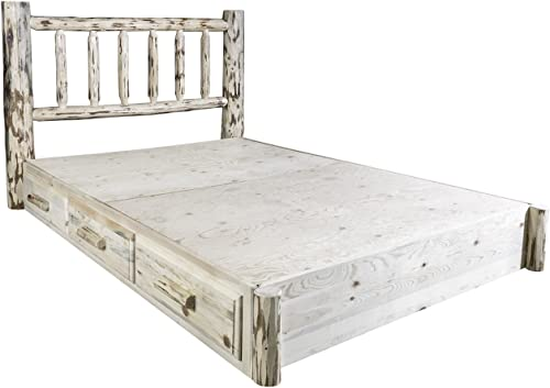 Montana Woodworks Montana Collection Queen Platform Bed