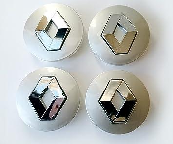Set de 4cubiertas para centro de tapacubos de aleación con logo de