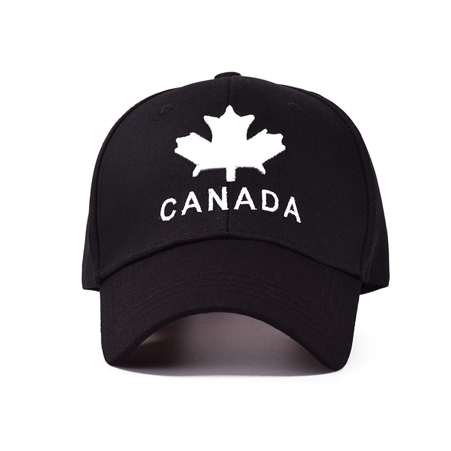56e15b2c08cd1 TokLask 2019 New Canada Letter Cotton Embroidery Baseball Caps Snapback Hat  for Men Women Leisure Cap Wholesale Black at Amazon Men's Clothing store: