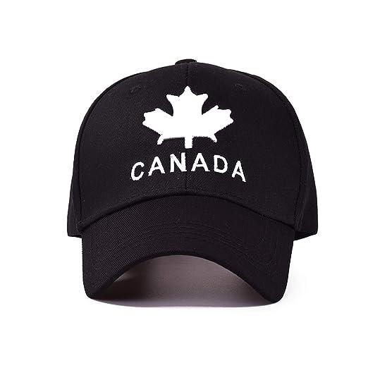 1bd89922e3abbc TokLask 2019 New Canada Letter Cotton Embroidery Baseball Caps Snapback Hat  for Men Women Leisure Cap Wholesale Black at Amazon Men's Clothing store: