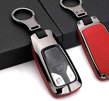 Ontto 1 Stück Autoschlüssel Hülle Abdeckung Schlüssel Tasche Für Audi A4l A5 A6l A7 Q5 Q7