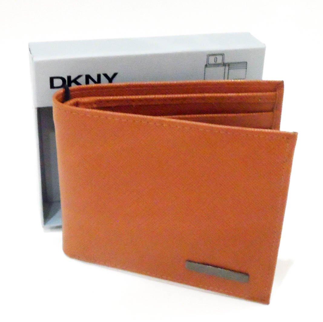 DKNY Cartera de Passcase de piel color marrón (Color Marrón ...
