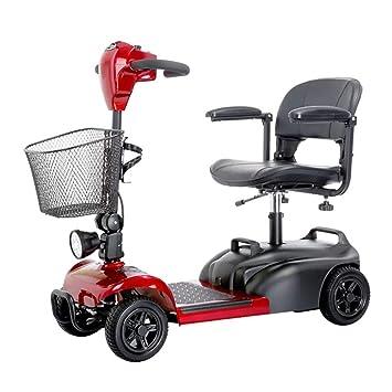Senior 4 Ruedas Scooter eléctrico para discapacitados ...
