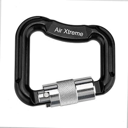Aluminum Carabiner Tiger Hook Lock Outdoor Hiking Practical Backpacks Keychain