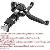 Maneta palanca plegable extensible ajustable de embrague y de freno para motos GSX-R 600