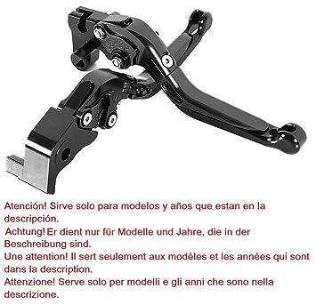 Maneta palanca plegable, extensible, ajustable de embrague y de freno para Yamaha YZF-R1 (2009-2014): Amazon.es: Coche y moto