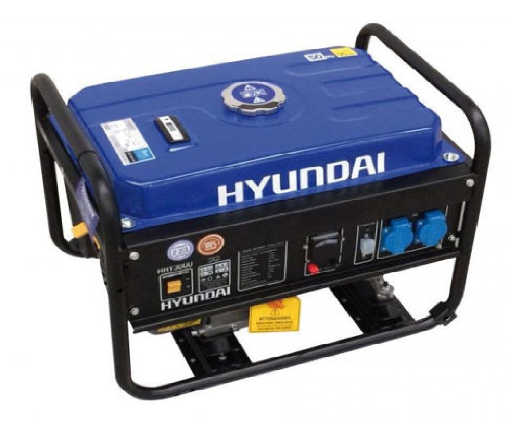 Stromgenerator Hyundai HY 3000 – 3 kW Generator: Amazon.de: Baumarkt