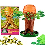 Alapaste Honey Bee Tree Game,Be Careful The Bees On the Tree,Fun Parent-child Interactive Intellectual Toy Games for Kids Adults,Ages 3 and Up