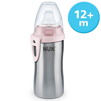 Amazon.com: NUK Active Cup Stainless Steel, Stainless Steel ...