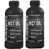 Sharrets 100% Pure MCT Oil (Caprylic/Capric Triglycerides ) 2 X 32 Oz