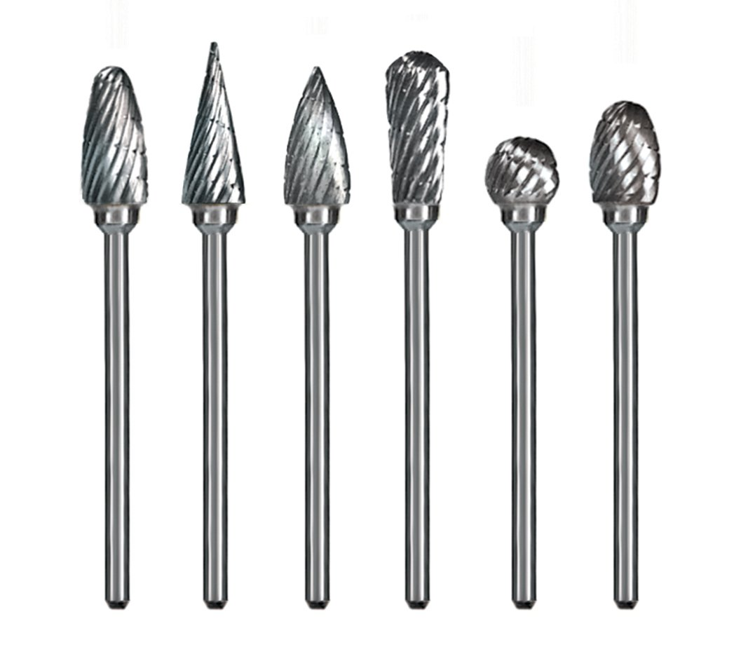 Dedeco 9000 Carbide Burs Regular-Cut Pack of 6