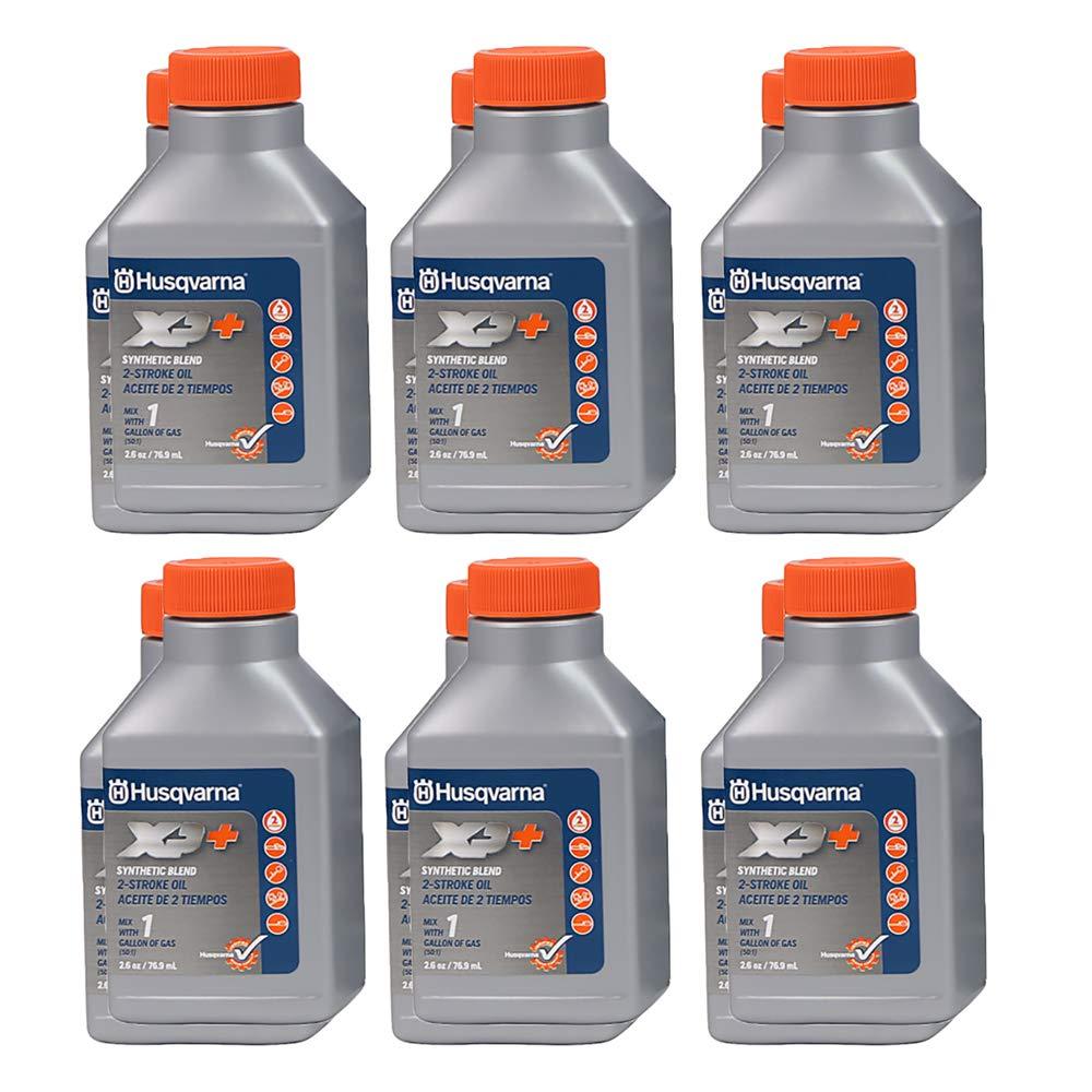 Husqvarna XP 2 Stroke Oil 2.6 oz. Bottle 12-Pack by Husqvarna