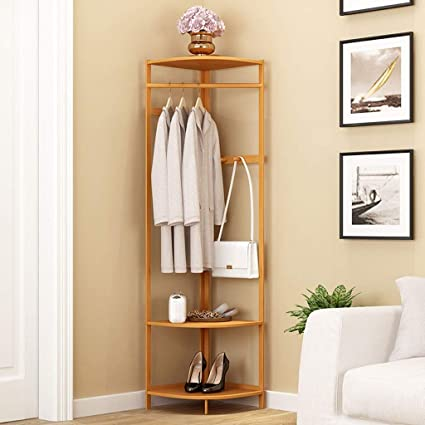 Amazon.com: A- Coat Rack Hanger Coat Rack - Bedroom Shelf ...