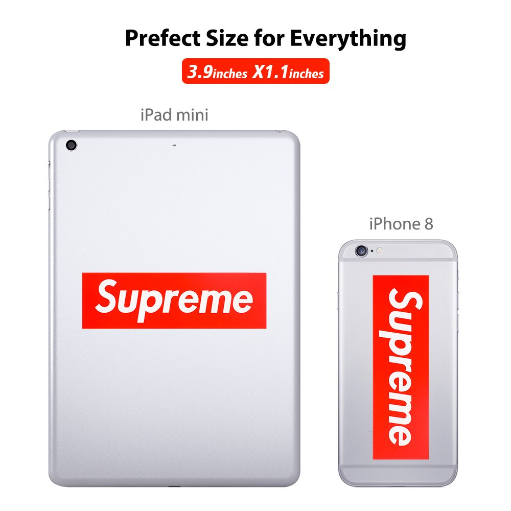 Supreme Sticker,FILLIXAR Waterproof Supreme Car Stickers for Laptop Car Luggage Guitar Skateboards Vinyl Sticker Graffiti Decal Stickers Pack 50pcs