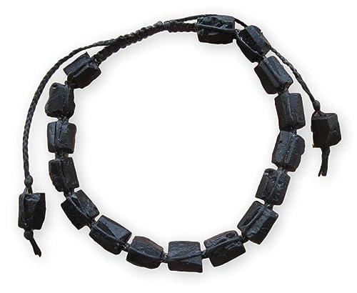 tourmaline bracelet bar bracelet October birthstone black tourmaline jewelry watermelon tourmaline bracelet birthday gift genuine tourmaline