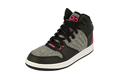 bf48504e8f58 Nike Air Jordan 1 Flight 4 Prem GG Hi Top Trainers 828245 Sneakers Shoes (UK