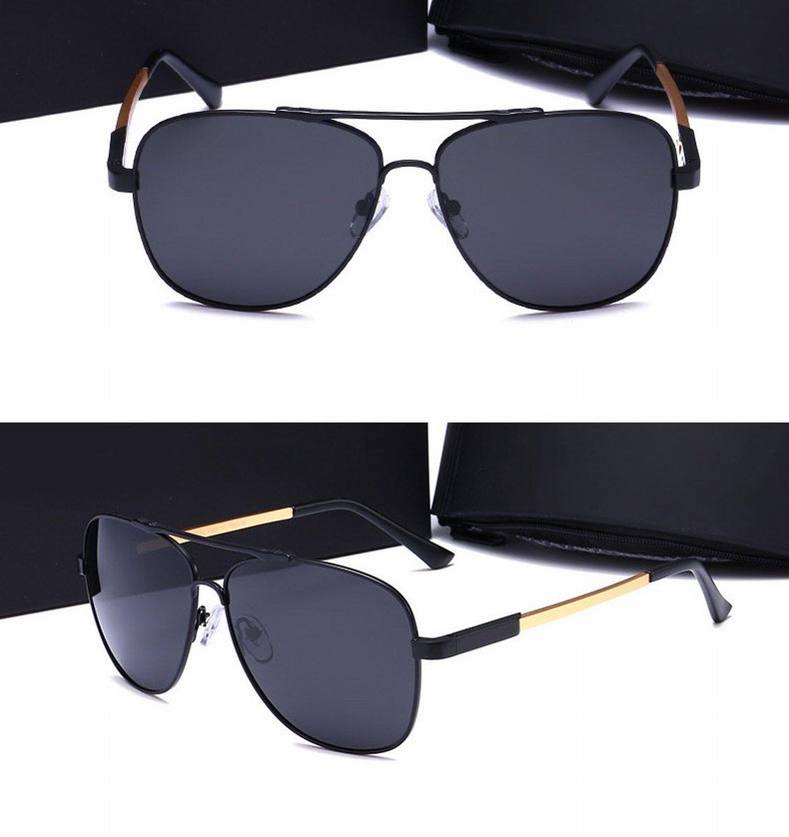 500a16171f Gafas de Sol Polarizadas para Hombre Gafas de Sol de Metal Alto Gafas de Sol  para