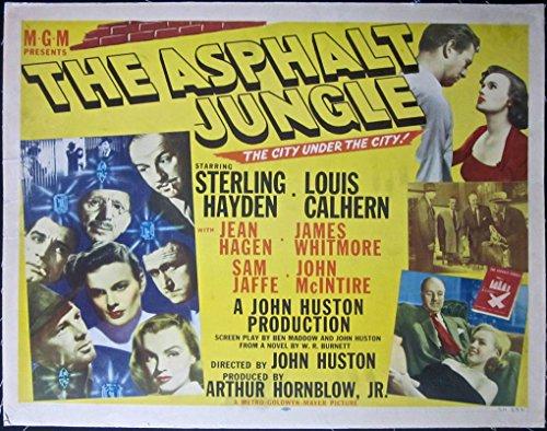 cut-200-the-asphalt-jungle-1950-half-sheet-lb-poster-rare-marilyn-monroe-role