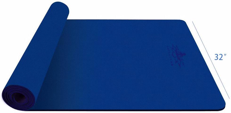 Hatha yoga Large TPE Yoga Mat - 72