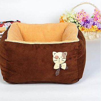FH Lavable Gato Nido Profundo Dormir Gato Casa Gato Cama Perreras Mascota Casa Casetas para Perros: Amazon.es: Productos para mascotas