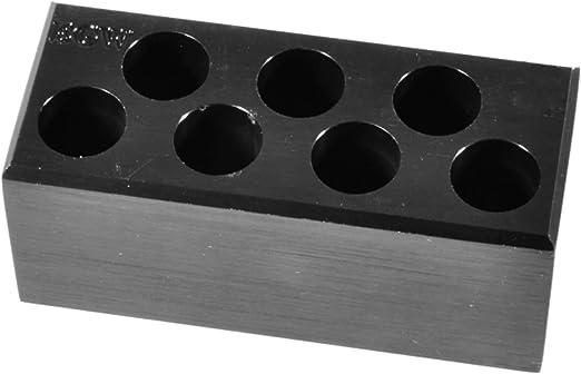 22-250 Remington Precision 6061 Aluminum Reloading Block