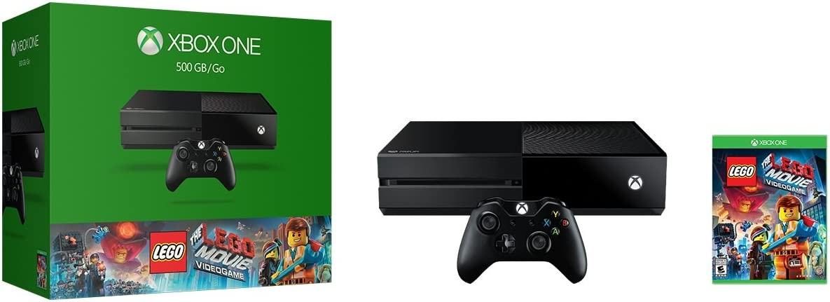 Amazon.com: Xbox One 500GB Console - The LEGO Movie Videogame ...