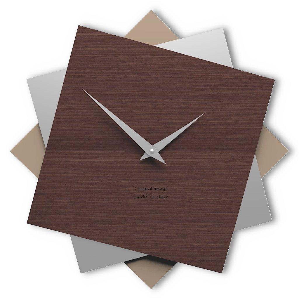 CalleaDesign 壁時計 Foy (ワインオーク) B07DX1XHJ1 ワインオーク ワインオーク