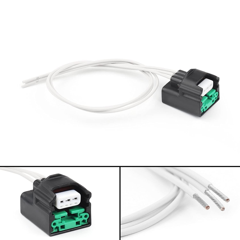 Areyourshop Camshaft Position Sensor Connector Plug harness For Nissan Infiniti VQ35DE Black