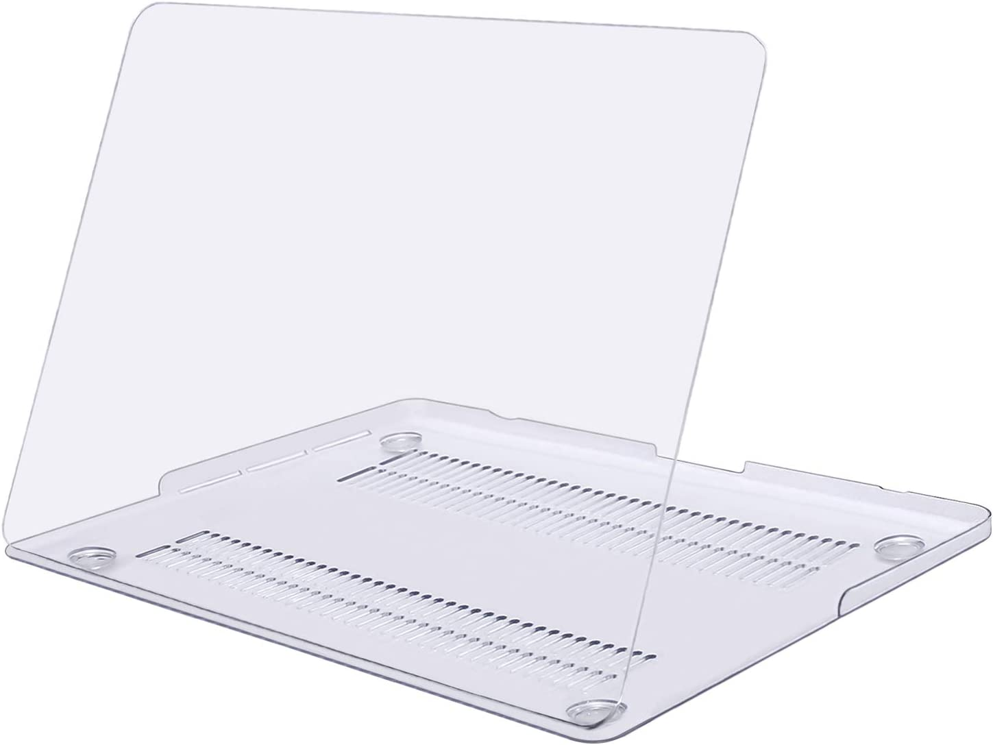 MOSISO Plastic Hard Shell Case Cover Only Compatible with Older Version MacBook Pro Retina 13 Inch (Models: A1502 & A1425) (Release 2015 - end 2012), Crystal Clear
