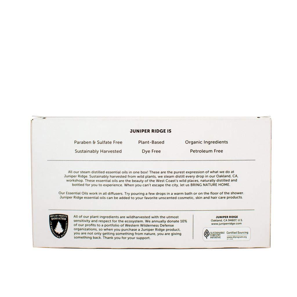 Juniper Ridge Essential Oil Gift Set - 5-Pack by JUNIPER RIDGE