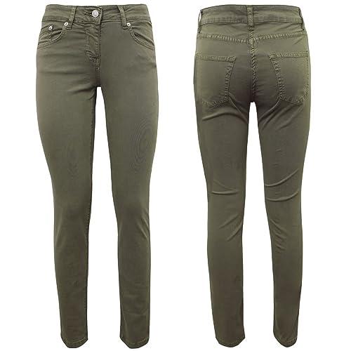 dbe357236c Pantalone - Kerri Peached Gabardine  Amazon.it  Scarpe e borse