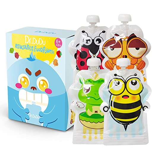 ​​Dr.DUDU Reusable Food Pouch