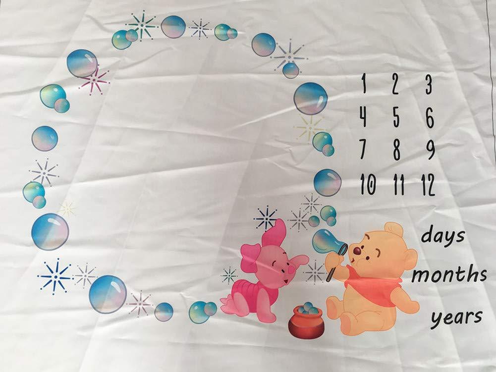 Amazon.com: Bebé Mes hito manta recién nacido fotos ...