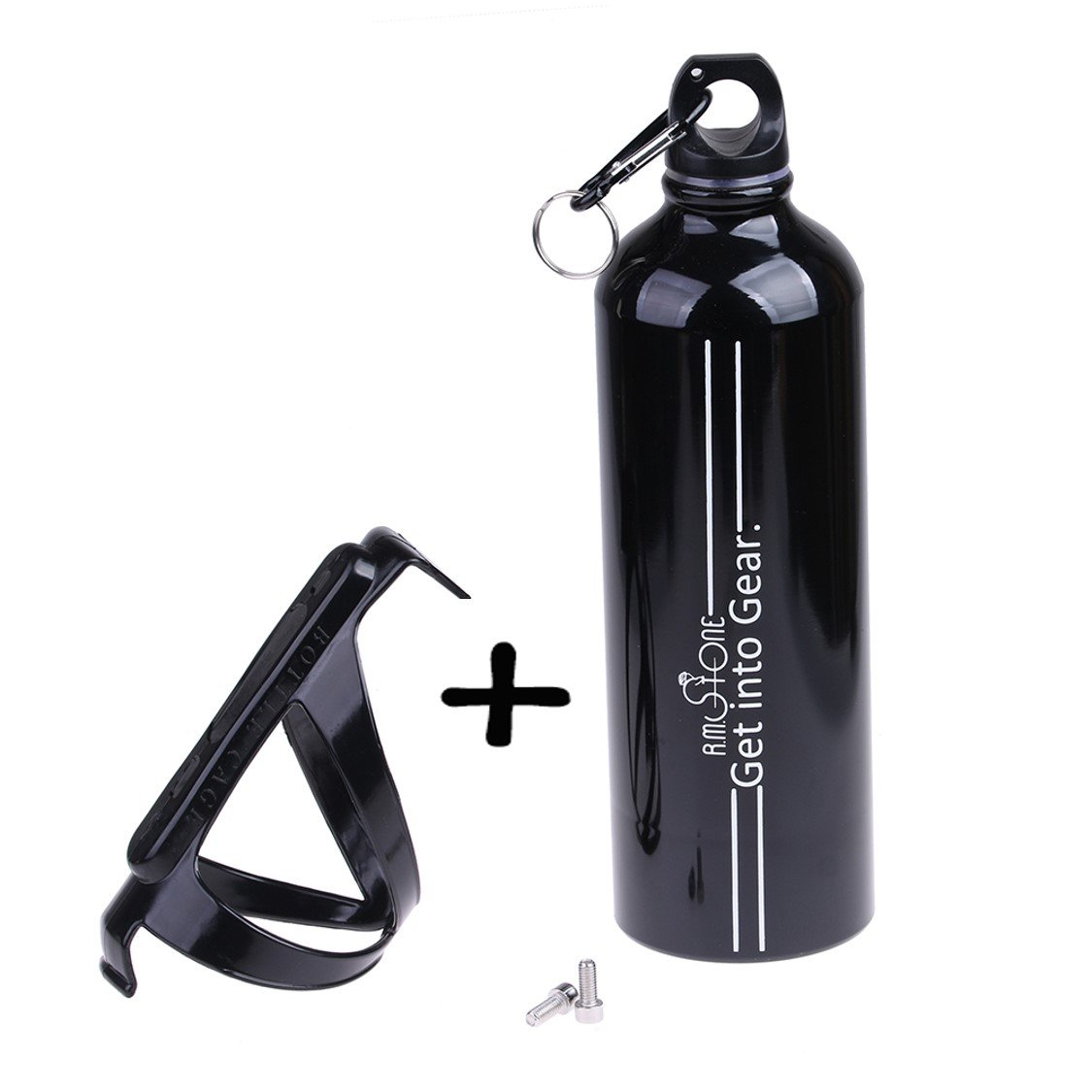 On Foot It's Easy To Carry With Ergonomic Grip And Included Carabiner On  The Road It Fits Your Perfectly Sized Bicycle Bottle Holder That Securely  Holds