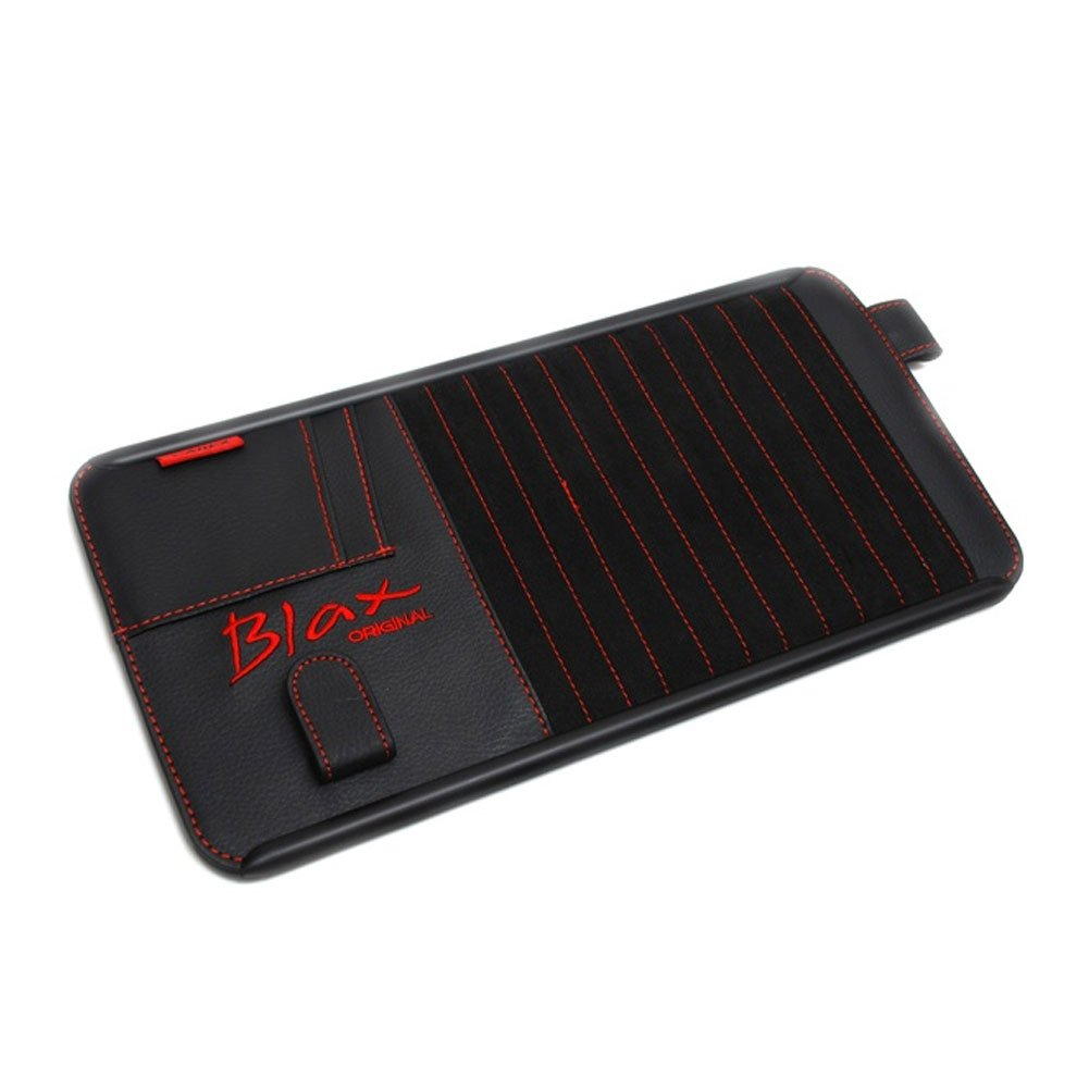 CAREX BLAX CAR TRUCK BLACK SUN VISOR CD HOLDER ORGANIZER STORAGE