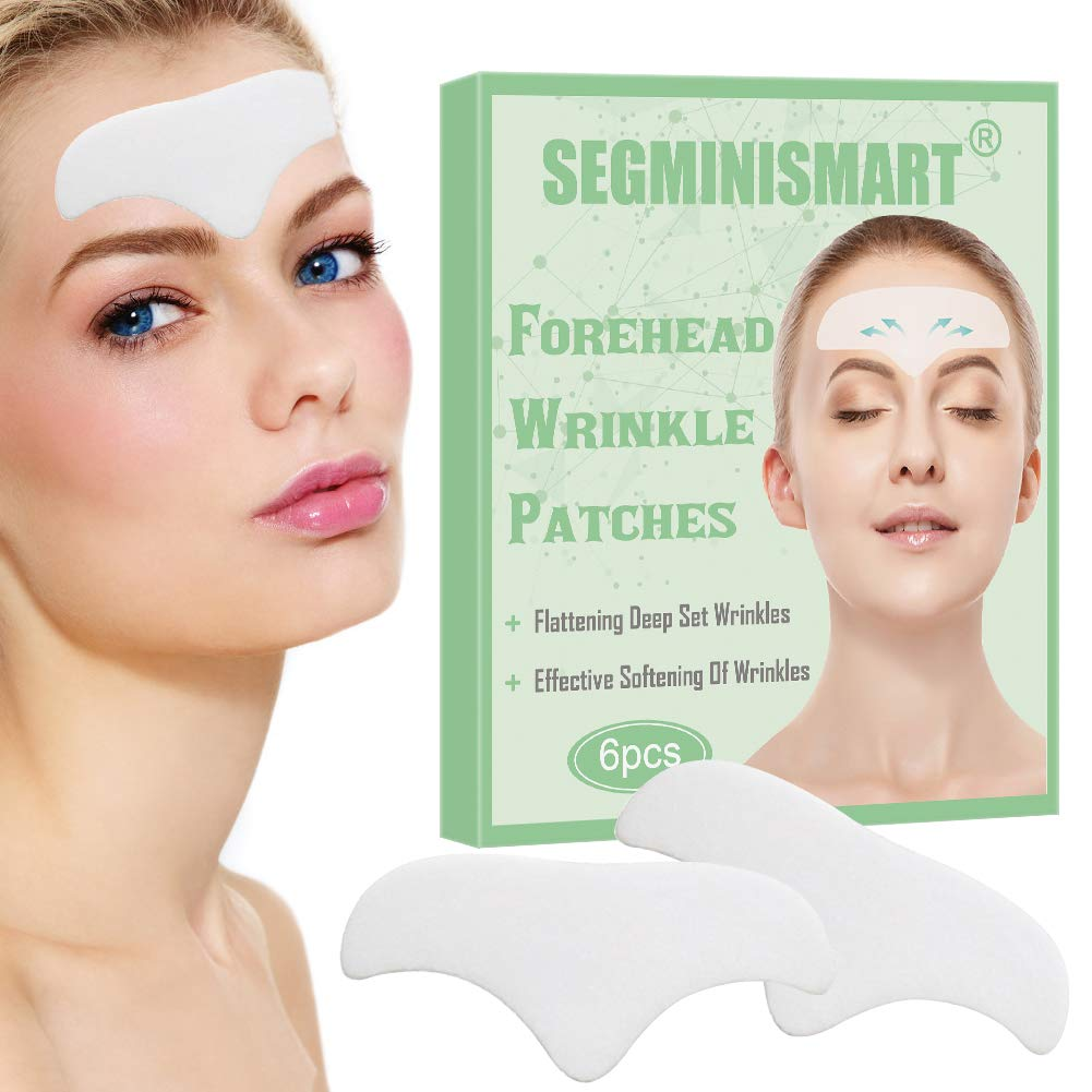 Amazon Com Forehead Wrinkle Patches Facial Wrinkle Patches Wrinkle Remover Strips Face Mask For Dry Skin Strips Anti Aging Moisturizing Pads Against Forehead Wrinkles Lines Beauty