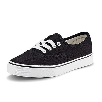 Women Canvas Sneaker Casual Core Classic Skate Shoes Low Cut Espadrilles Lace up Comfortable | Fashion Sneakers