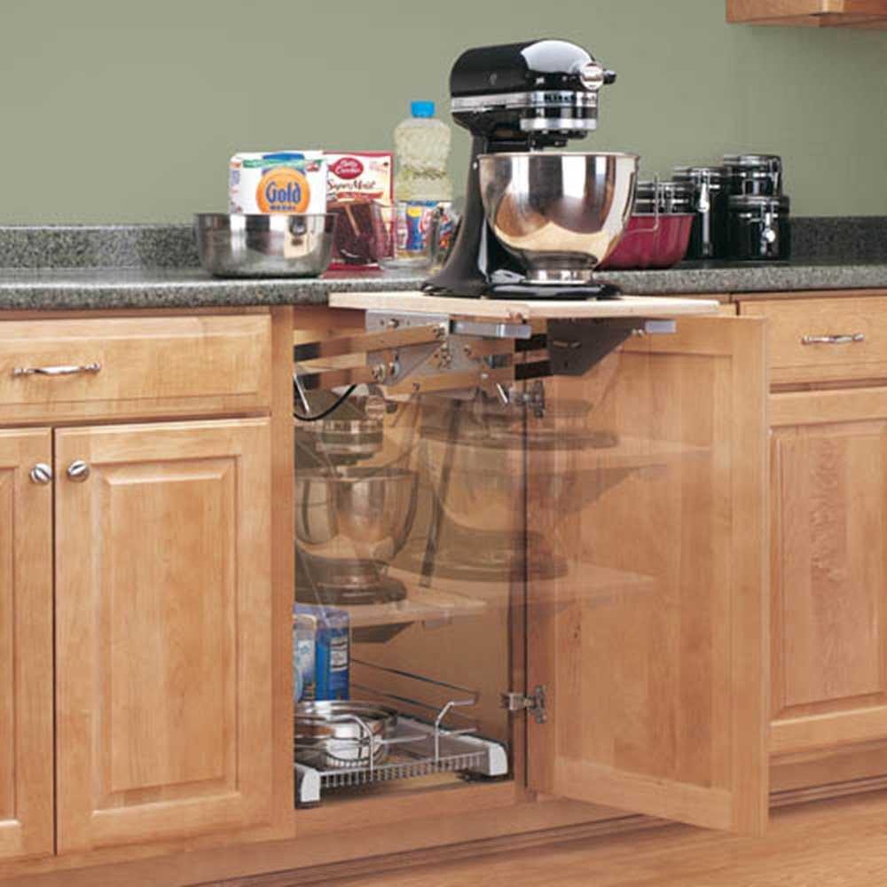 Kitchen cabinets measurements answers - Amazon Com Rev A Shelf Ras Ml Hdcr Full Height Base Cabinet Heavy Duty Mixer Lift Electric Stand Mixers