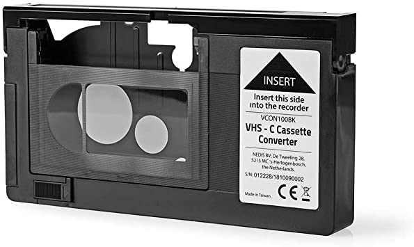 Amazon Com Hq Vhs C Video Cassette Adaptor Not Compatible With 8mm Minidv Hi8 Tapes Camera Photo