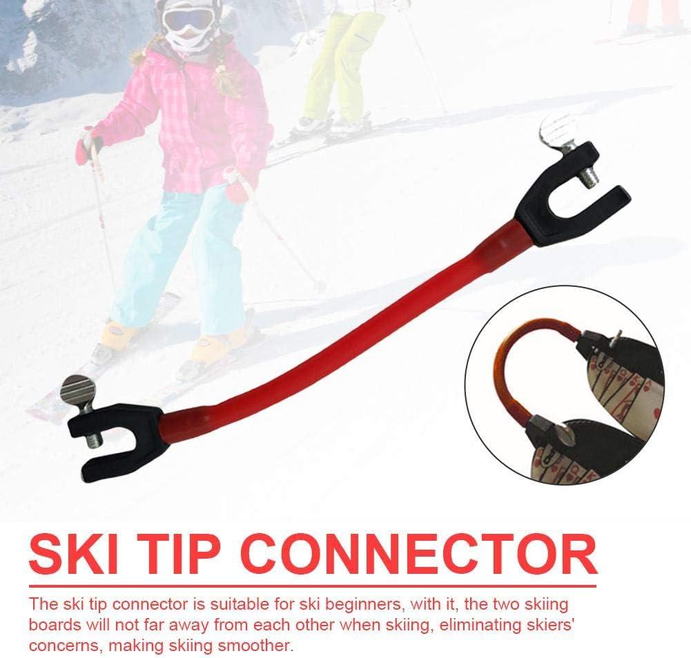 le virage de base Parfait pour les d/ébutants Connecteur de pointe de ski Wedgease Connecteur de pointe de ski la fabrication dun coin Portable et durable Enseigne le contr/ôle de la vitesse