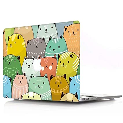 Amazon.com: MacBook Air 13 Case, AQYLQ Super Thin Rubberized ...