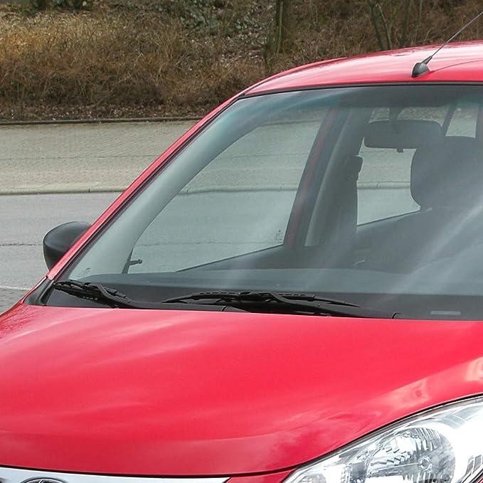 Parabrisas delantero de 55,88 cm + 40,64 cm J/U con juego de escobillas limpiaparabrisas para I10: Amazon.es: Coche y moto
