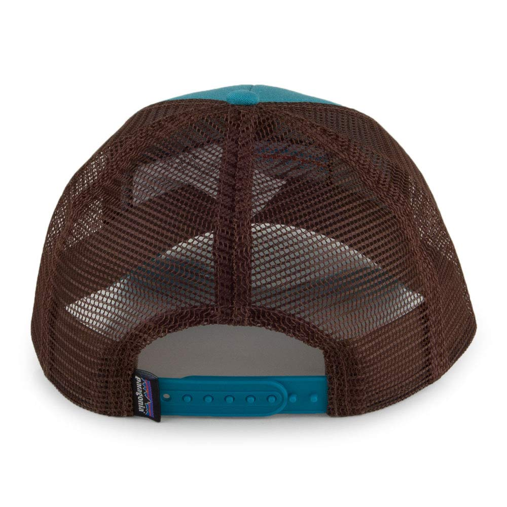 b47625d5fb7bf Patagonia P6 LoPro Trucker Hat (Black) at Amazon Men s Clothing store
