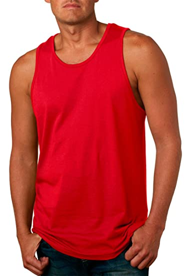 4466306ab0a4a Image Unavailable. Image not available for. Color  Next Level Apparel Mens  Premium Jersey Tank ...