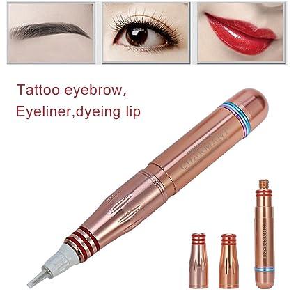Máquina de tatuaje permanente Cejas tatuaje delineador de labios ...