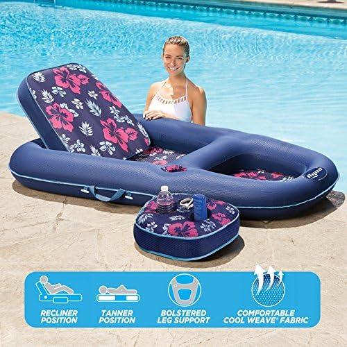 Aqua Campania Ultimate 2 in 1 Pool Lounge Float